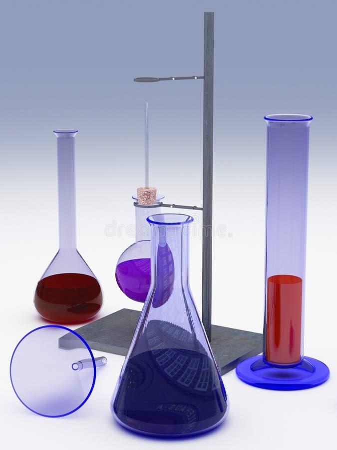 химические тарелки бесплатная иллюстрация