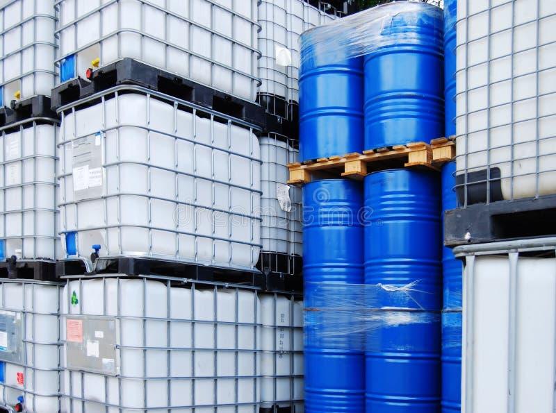 химический контейнер стоковая фотография