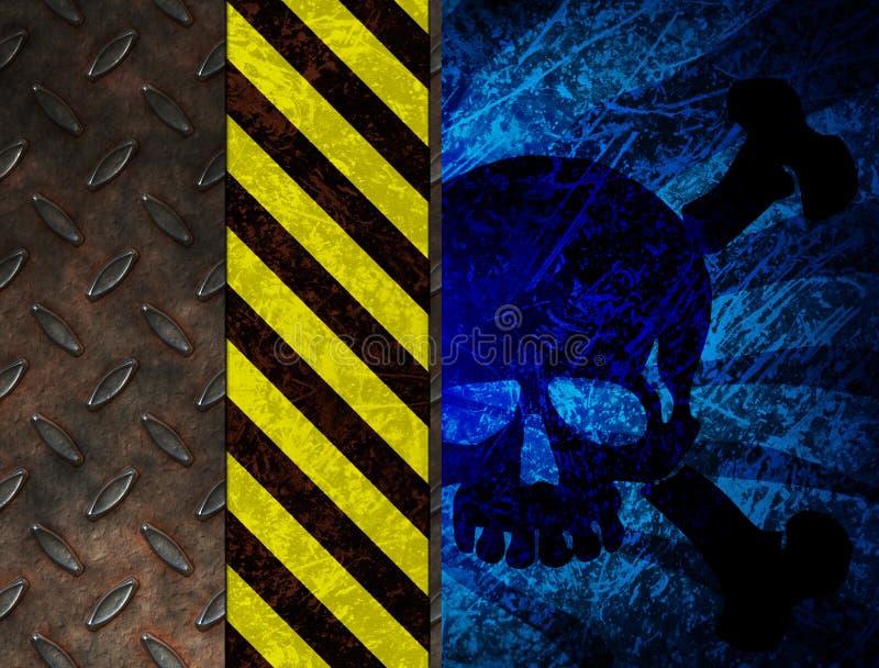 химическое предупреждение отравы иллюстрация штока