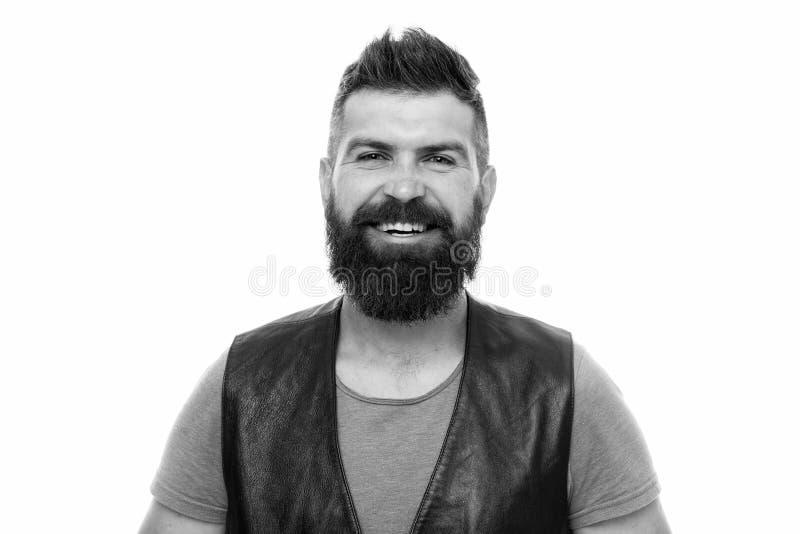 Хипстер с парнем бороды зверским : Холить парикмахерской и бороды Вводить бороду и усик в моду m стоковые изображения
