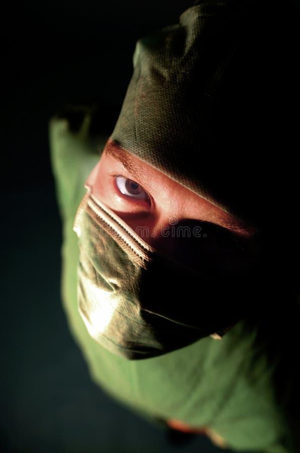 хирург стоковое фото rf