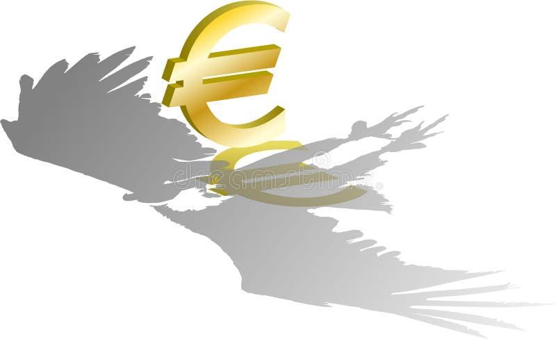 хищник евро иллюстрация вектора