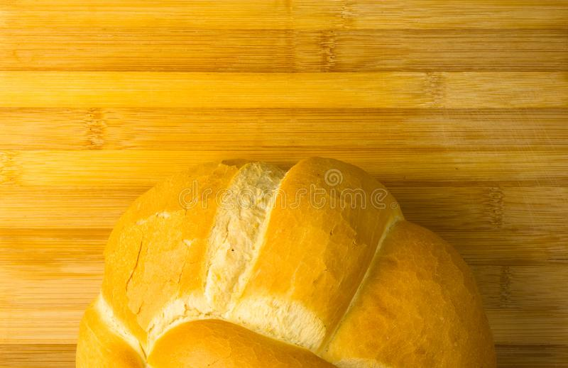 хлебец белого хлеба пшеницы стоковое изображение rf