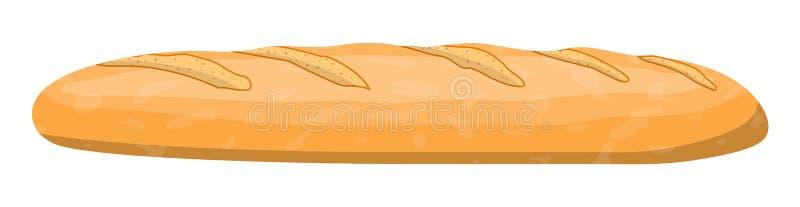Хлебец хлеба пшеницы Хлебец зерна бесплатная иллюстрация