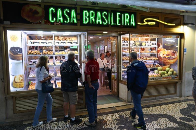Хлебопекарня Лиссабона стоковые изображения