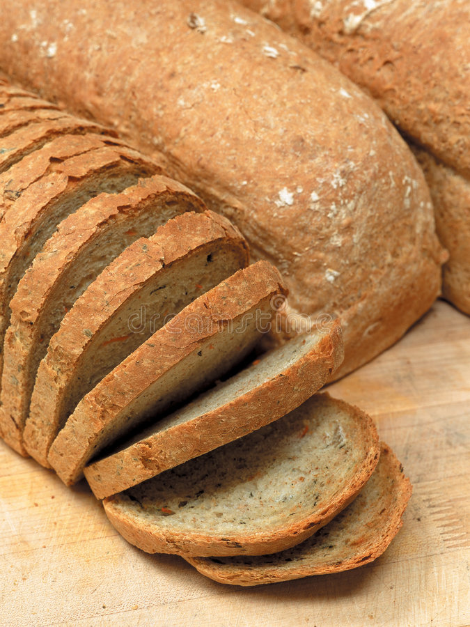 хлебцы хлеба стоковая фотография