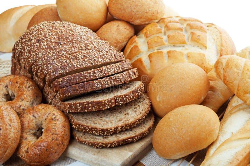 хлебы ассортимента стоковая фотография