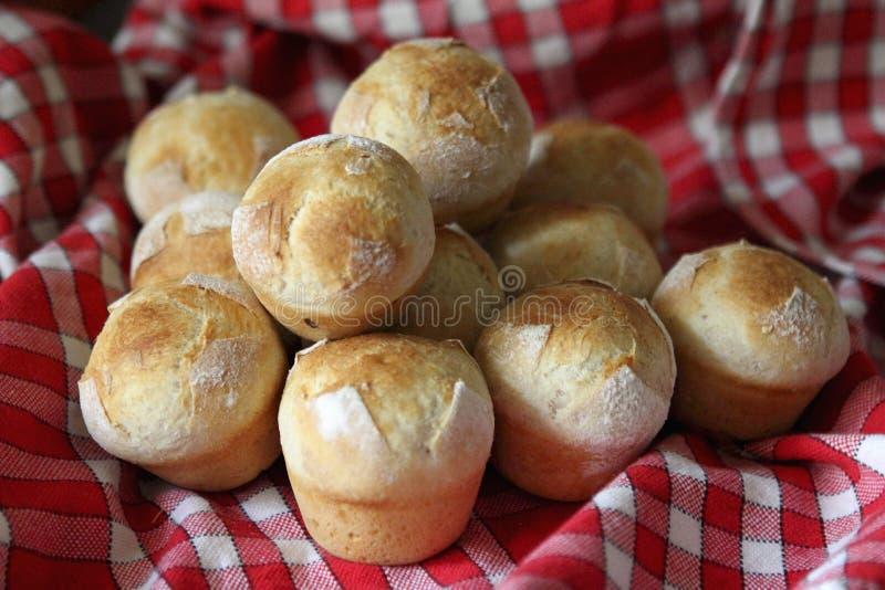 хлебы leavened малое стоковая фотография