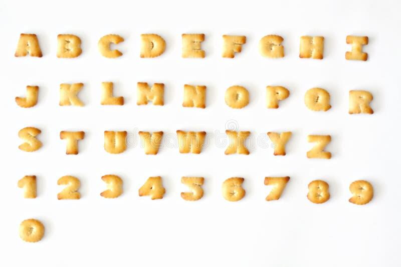 Download хлеб алфавита стоковое изображение. изображение насчитывающей письмо - 18390191