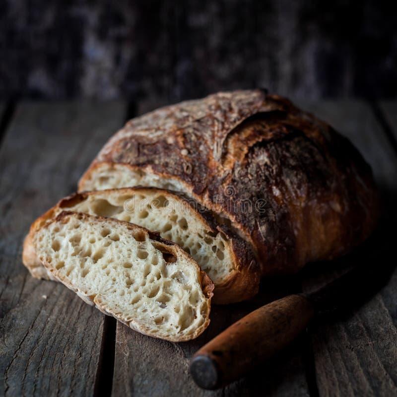 хлеб деревенский стоковые фото