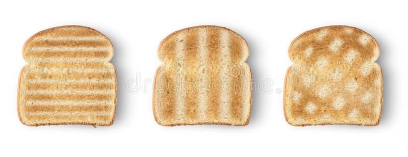 Хлеб здравицы кусков стоковые фото