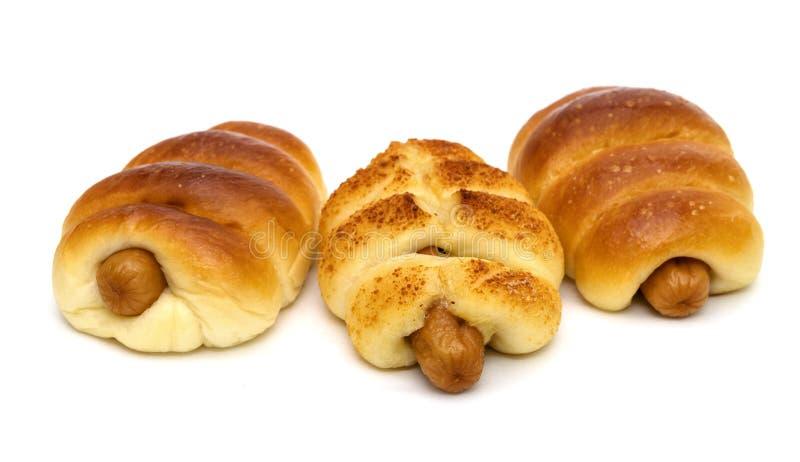 Хлеб из сыра, изолированный на белом фоне стоковая фотография rf