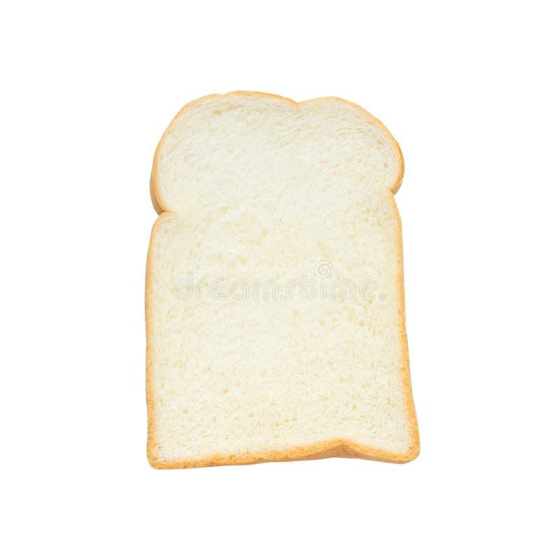 Хлеб масла изолированный на белой предпосылке стоковое фото rf