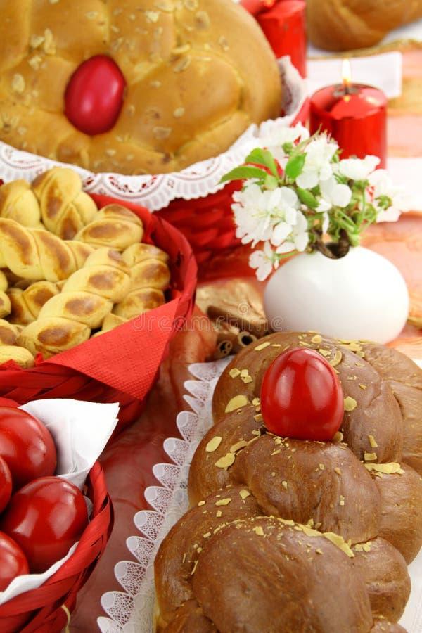 хлеб пасха стоковые фотографии rf