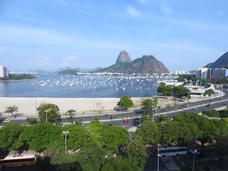 Хлеб сахара Рио-де-Жанейро стоковое изображение