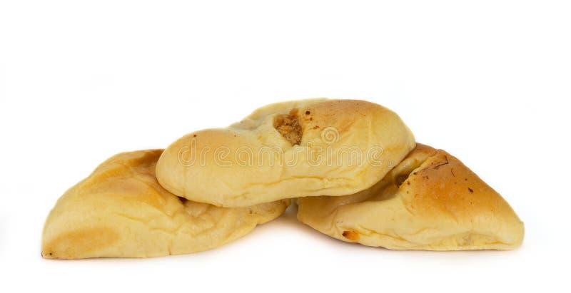 Хлеб с высушенным shredded свининой стоковые фото