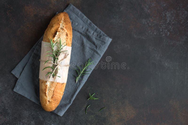 Хлеб с розмариновым маслом стоковая фотография rf