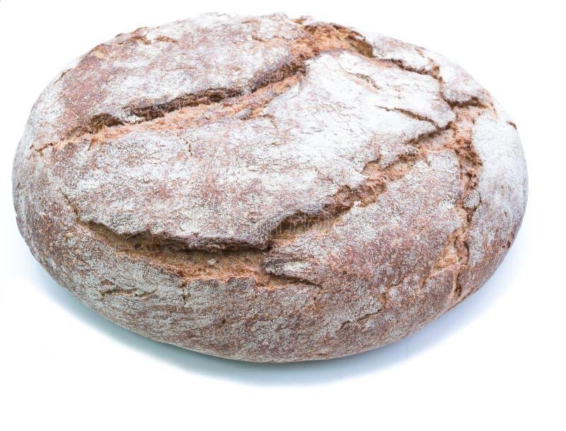 Хлеб Sourdough изолированный на белизне стоковое фото rf