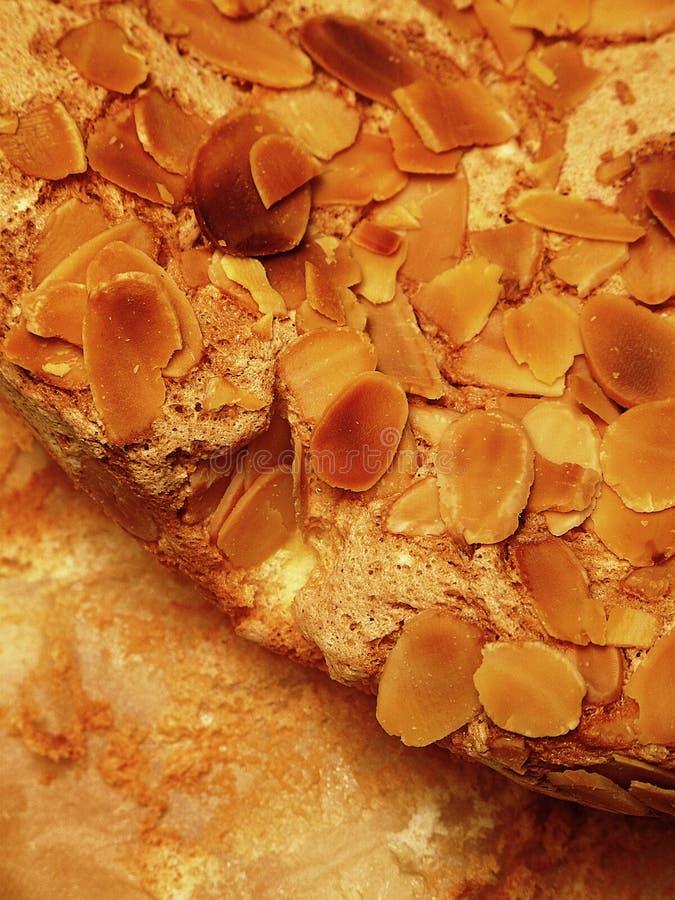 хлопья торта миндалины стоковое фото rf