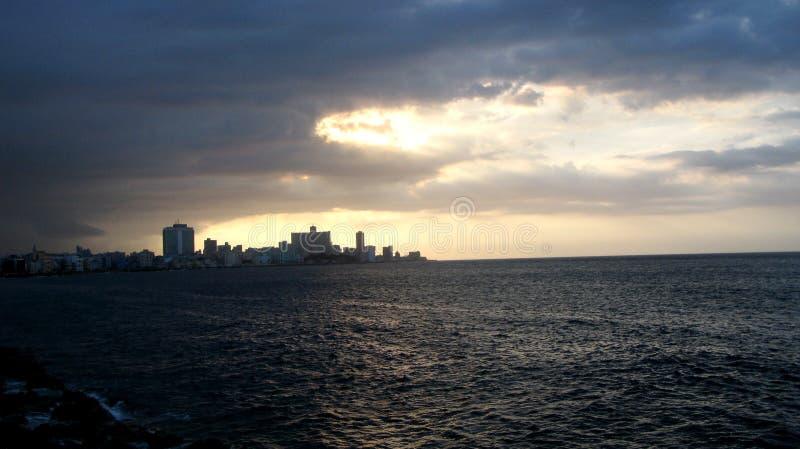 Хмурое и темное Atlantica стоковые изображения