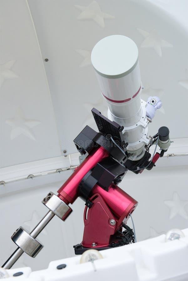 Хобби, телескоп звезды Hobbyist, астрономия стоковая фотография rf