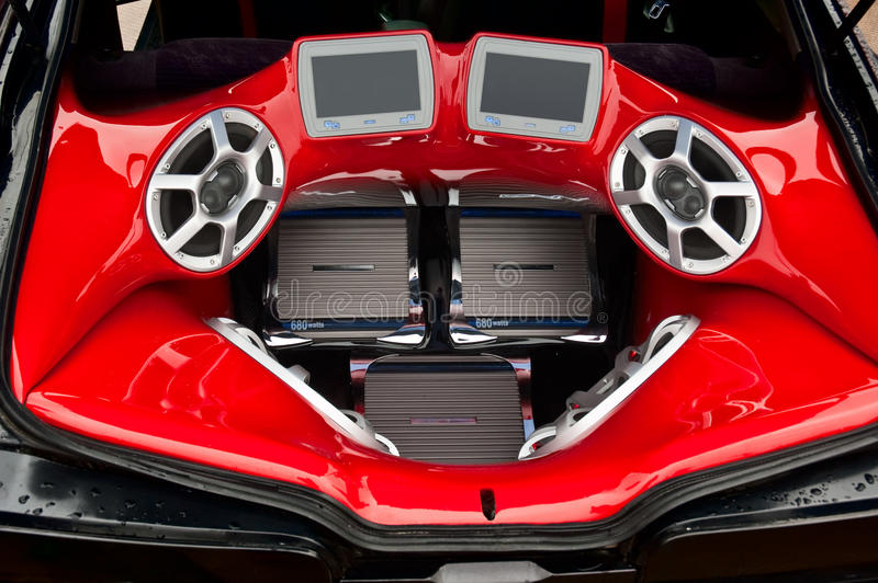 хобот тональнозвуковой системы стоковое фото