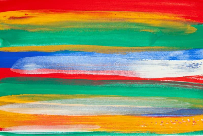 Ходы краски закрывают вверх стоковая фотография rf