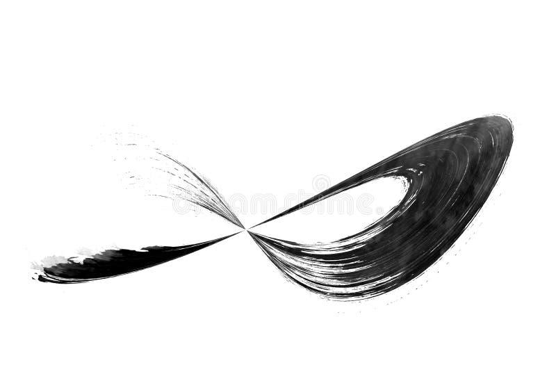 Ходы щетки цвета воды конструируют графическую предпосылку влияния иллюстрация штока
