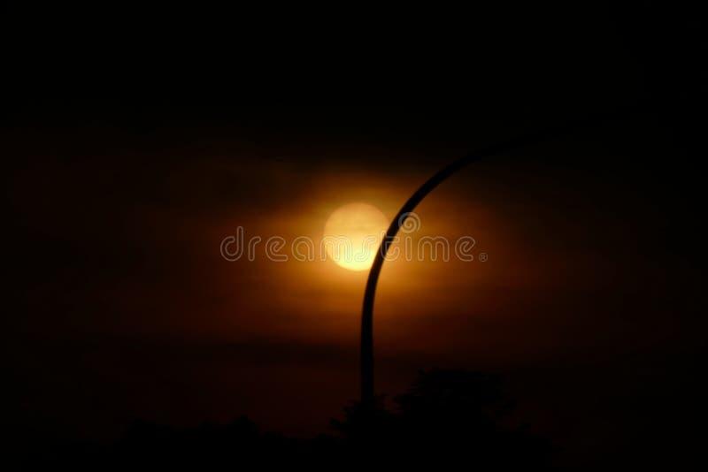 Ход захода солнца стоковые фото