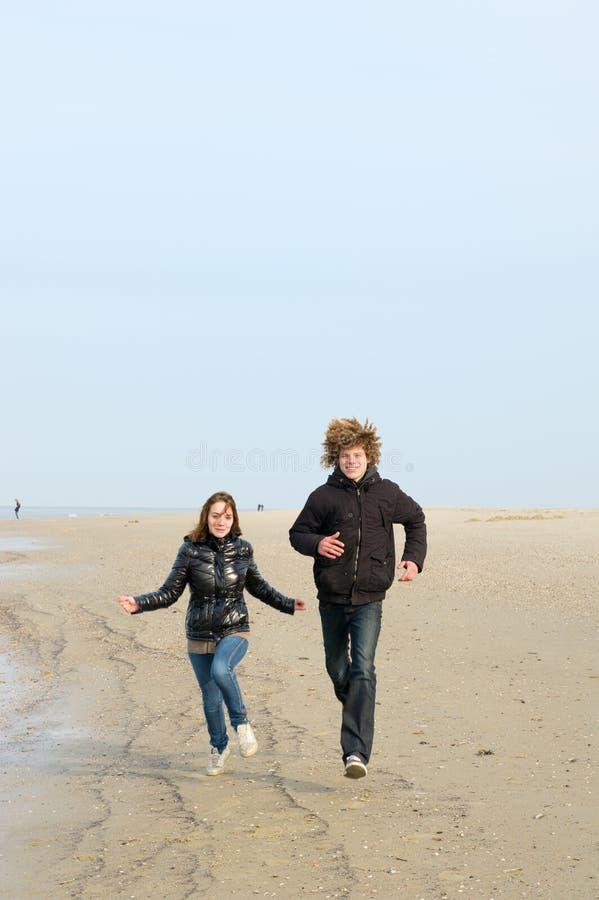 ход пляжа стоковое фото rf