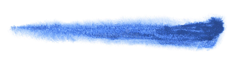 Ход щетки Watercolour иллюстрация штока