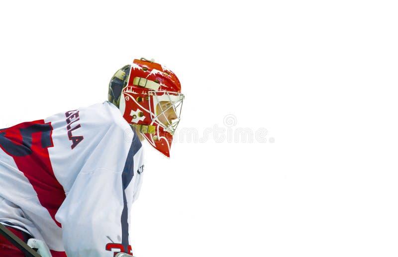 хоккей вратаря стоковые фотографии rf