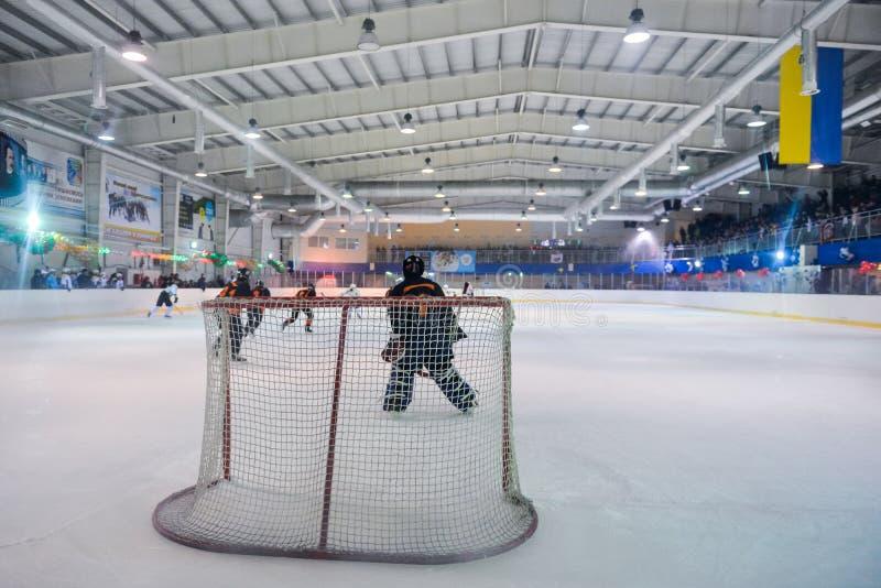Хоккей женщин в Украине стоковые фотографии rf