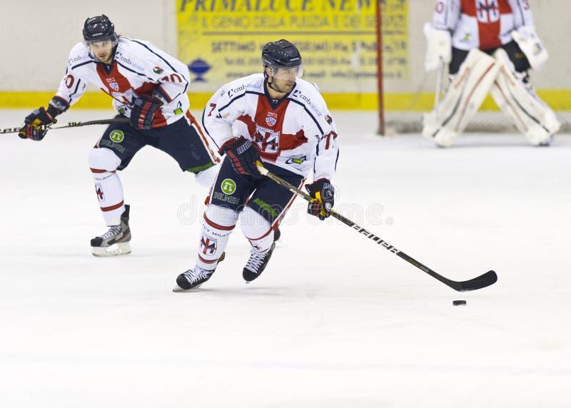 Хоккей на льде стоковая фотография