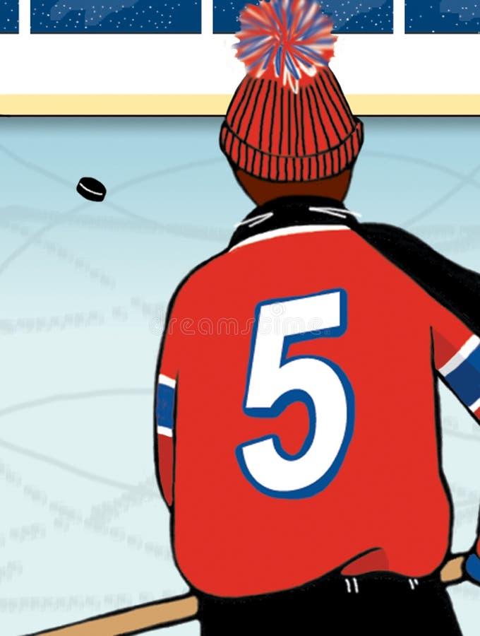 хоккей иллюстрация вектора