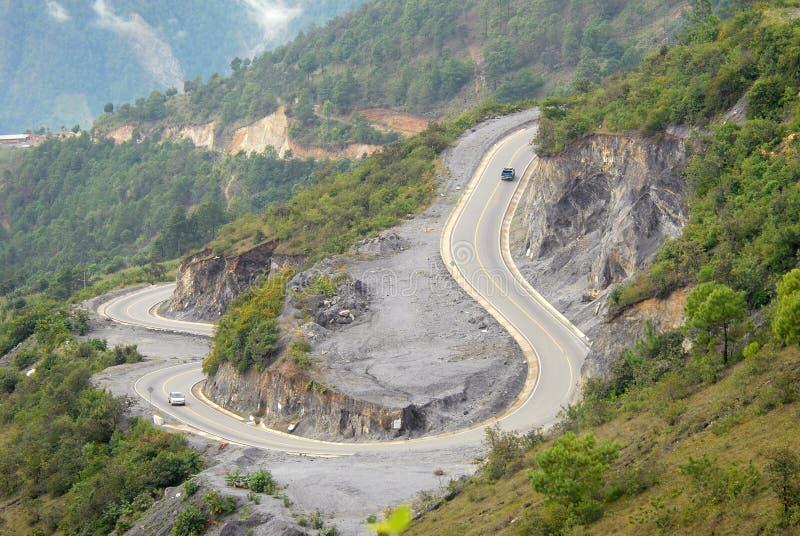 холмы Гватемалы стоковое изображение rf
