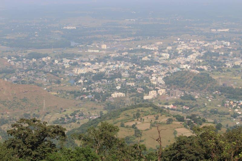Холмы осматривают над горой стоковые фото