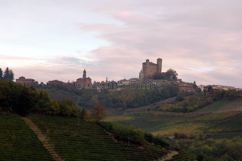 холмы сельской местности итальянские стоковая фотография