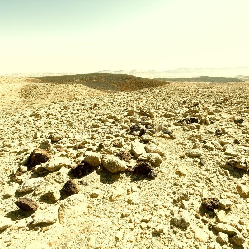 холмы утесистые стоковая фотография rf