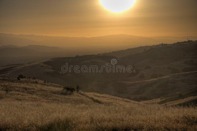холмы california стоковое фото rf