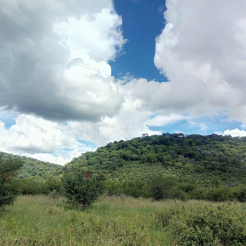 Холмы Ghoha стоковая фотография