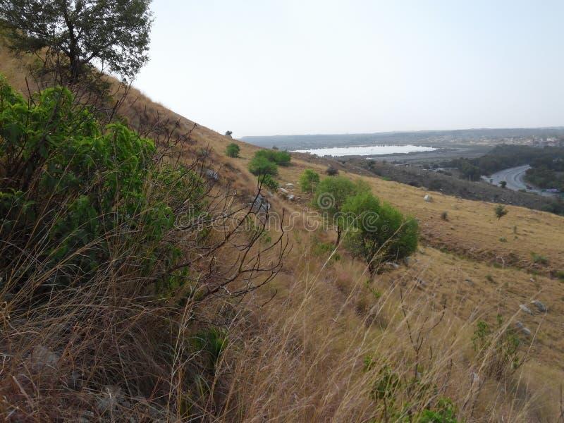 Холмы Kalar Kahar стоковое изображение rf