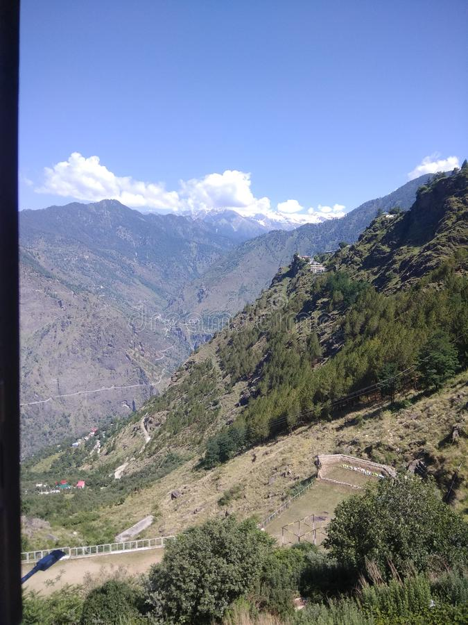 Холмы Narkandda стоковое фото rf