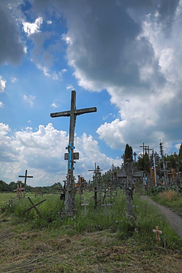 Холм крестов Литва бесплатная иллюстрация