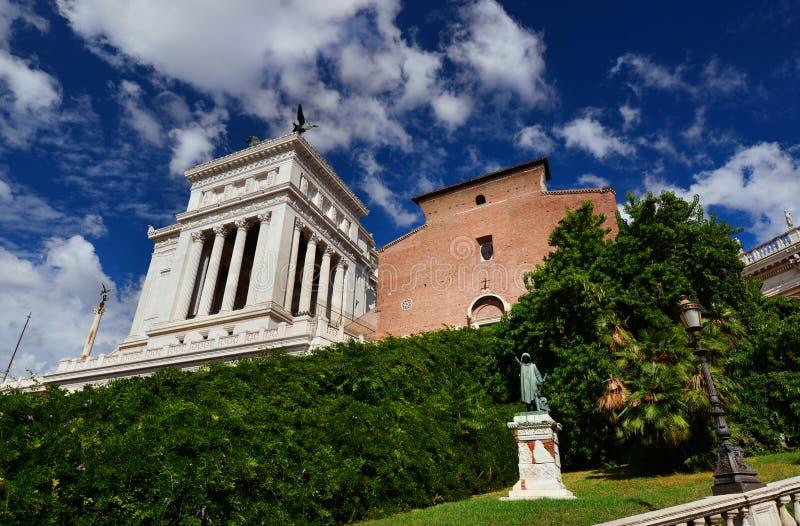 холм rome capitoline стоковые изображения