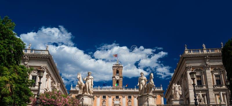 холм rome capitoline стоковые фотографии rf