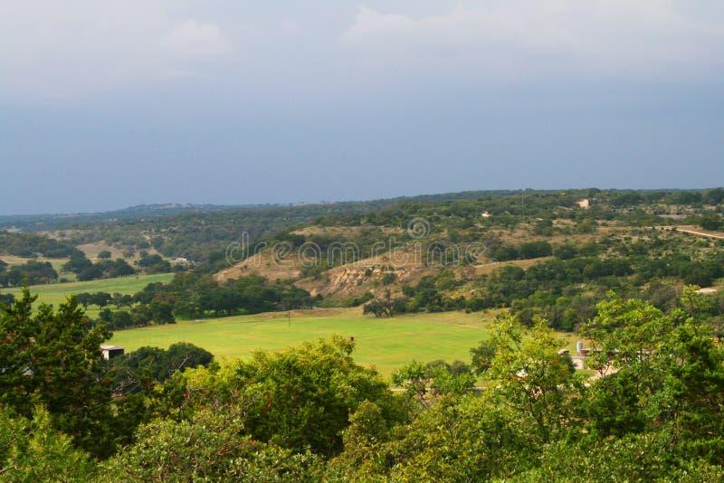 холм texas страны стоковые изображения rf