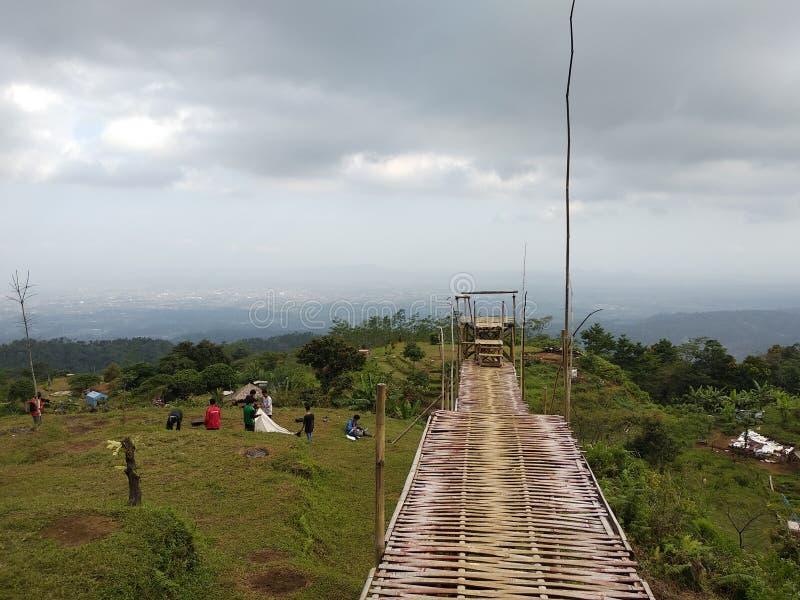 Холм Tranggulasi стоковая фотография