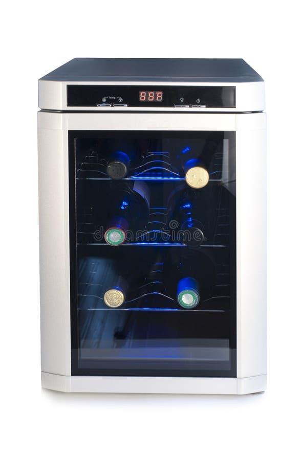 Холодильник вина стоковая фотография rf