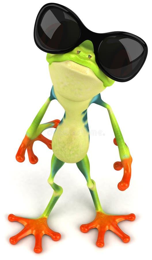 холодная лягушка бесплатная иллюстрация